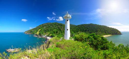 Lighthouse and National Park of Koh Lanta, Krabi, Thailand