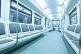Fototapete Städtisches - Niemand - U-Bahn