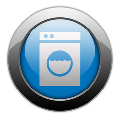 "Metallic Orb Button ""Laundromat"""