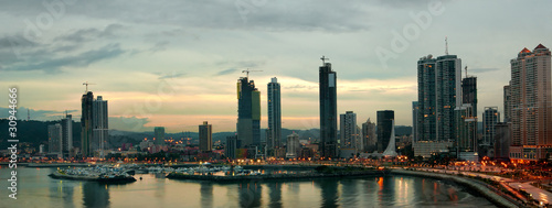 Fotobehang Centraal-Amerika Landen Panama city
