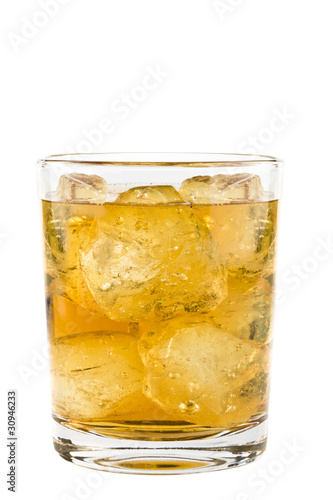 negroni isolated on white