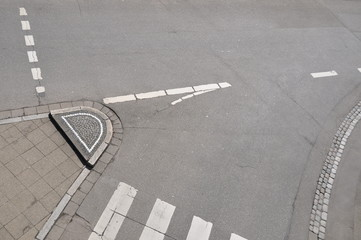Verkehrsführung