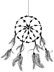 The dream catcher icon