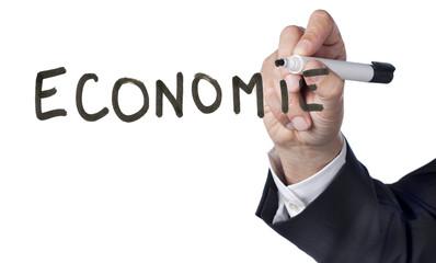 zoom sur le terme d'économie actuelle