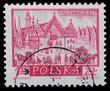 Poland - CIRCA 1965: A stamp - Wroclaw
