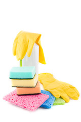 Sanitation and cleaning products
