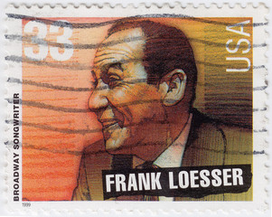 American Broadway Songwrighter Frank Losser