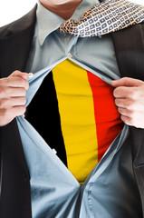 Belgium flag on shirt