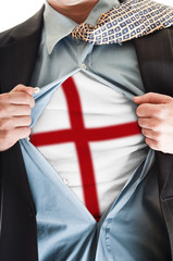 England lag on shirt