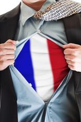 France flag on shirt