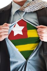 Togo flag on shirt