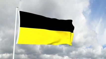 Deutschland - Baden-Württembergische Flagge