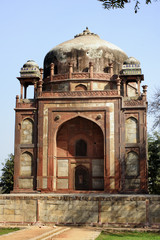 Nai-ka-Gumbad or Barber's tomb at Humayun tomb park complex.