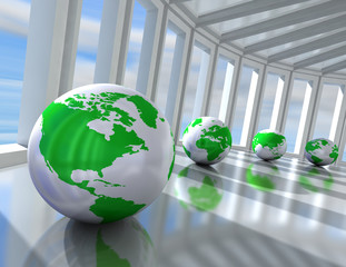 concepto de negocios en red