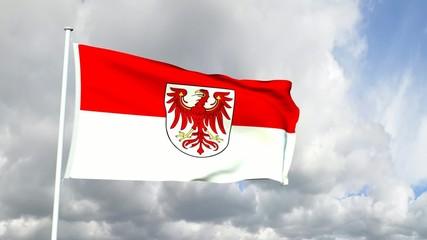 Deutschland - Brandenburgische Flagge