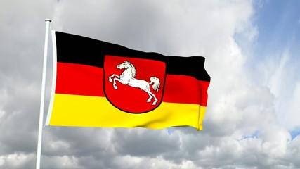 Deutschland - Niedersächsische Flagge