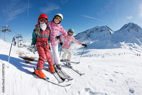 Vacances aux sport d'hiver - 30975670