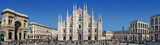 Panorama Piazza del Duomo - Mediolan