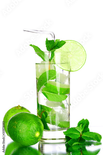 mojito on white