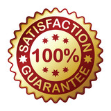 guarantee label, vector EPS version 8