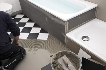 Badezimmer Renovierung