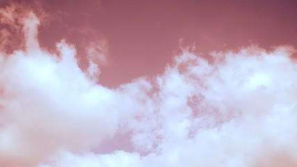 nuvole in un cielo rosso
