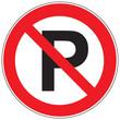 Zeichen Parken verboten