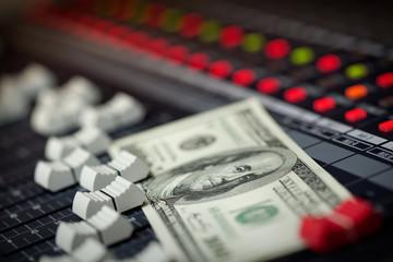 Music Business Mixer Money