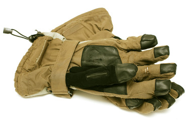 used ski gloves