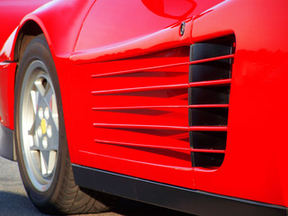 rote Dynamik - Auto