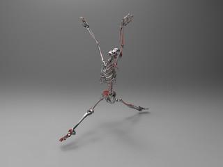 squelette dansant