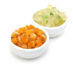 Orangeat, Zitronat
