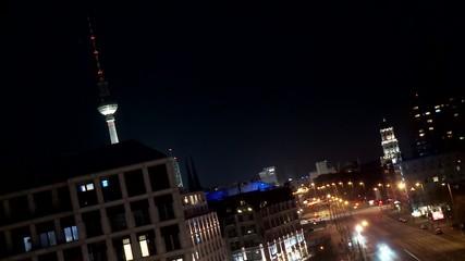 Fernsehturm Berlin, Zeitraffer