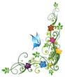 Bunter Frühling, Ranke, flora, filigran, Blumen, Blüten