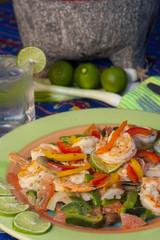 mediteranean cuisine shrimps bell peppers 6