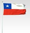 040 - Flagge von Chile - Render
