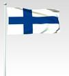 055 - Finnische Flagge - Render