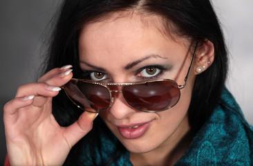 Bezaubernde Junge Frau mit tollen Augen
