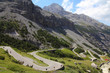 Stelvio Pass in Stelvio National Park - Italian Alps
