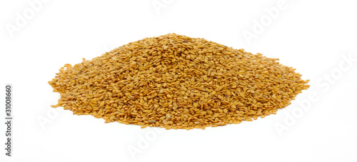 Mound of Flax Seed