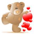 babybär - verliebt