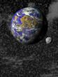 Fototapeten,planet,universum,abstrakt,lieblich