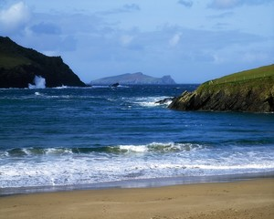 Co Kerry, Blasket Island, Sleeping Bishop, Ireland