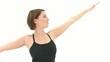 Yoga Asana Sun Warrior