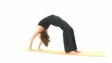 Yoga Asana in sequence: Wheel, Wheel Pose poster