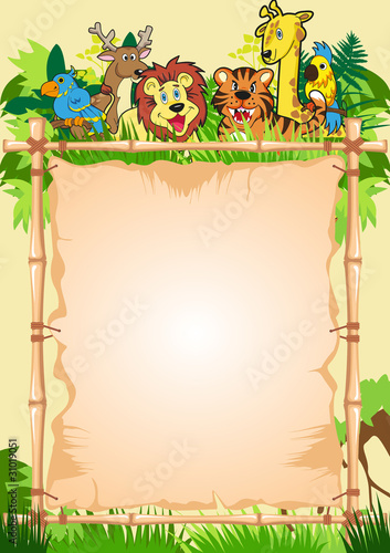Jungle Invitation