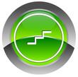 Escalator glossy icon