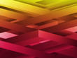 Red and Yellow abstract geometric lines background.