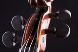 violin string art musical objekt poster