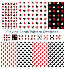 Playing Cards Pattern Swatches